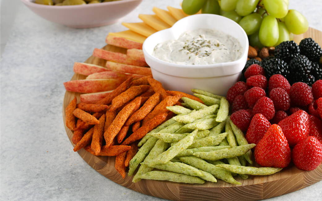 Healthier Chips with Fruit